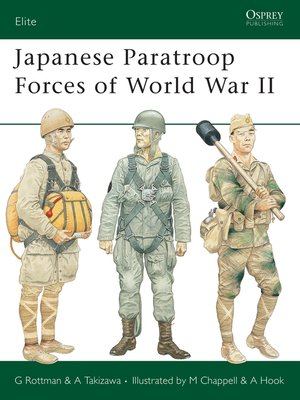 cover image of Japanese Paratroop Forces of World War II
