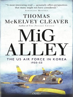 cover image of MiG Alley