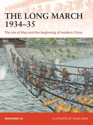 cover image of The Long March 1934–35