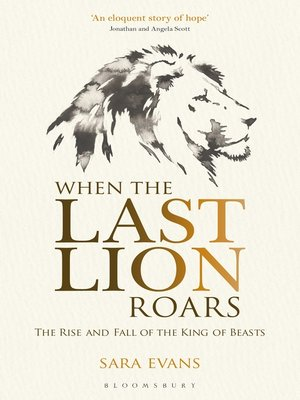 cover image of When the Last Lion Roars