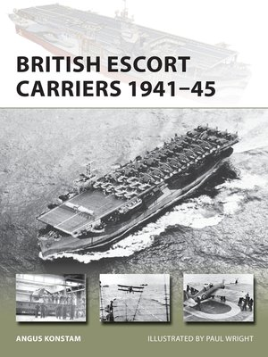 cover image of British Escort Carriers 1941–45