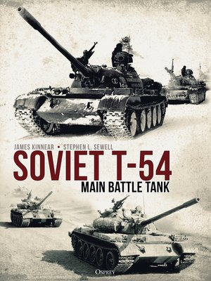 cover image of Soviet T-54 Main Battle Tank
