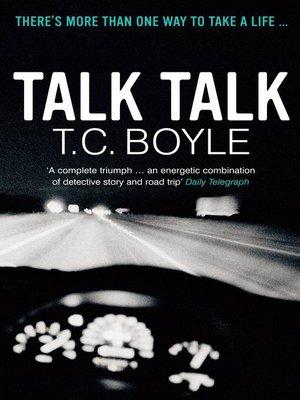 cover image of Talk Talk