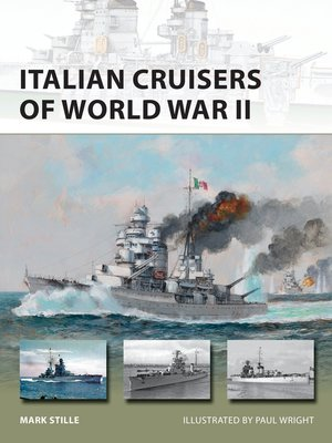 cover image of Italian Cruisers of World War II