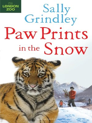 cover image of Paw Prints in the Snow