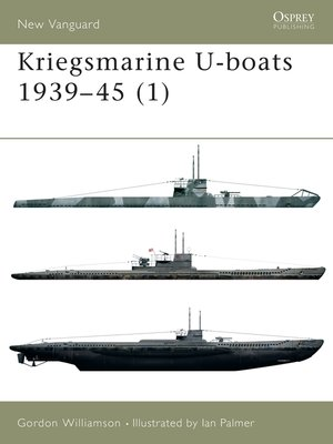 cover image of Kriegsmarine U-boats 1939–45 (1)
