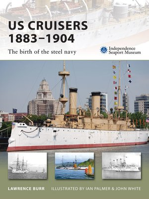 cover image of US Cruisers 1883–1904