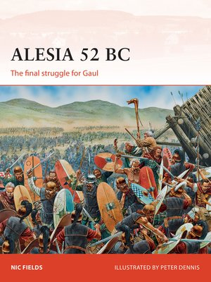 cover image of Alesia 52 BC