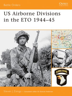 cover image of US Airborne Divisions in the ETO 1944-45