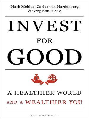 cover image of Invest for Good