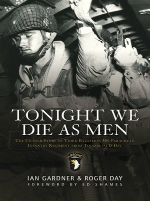 cover image of Tonight We Die As Men PB