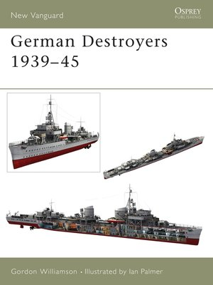 cover image of German Destroyers 1939–45