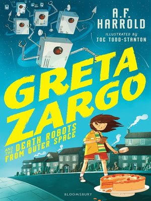 cover image of Greta Zargo and the Death Robots from Outer Space