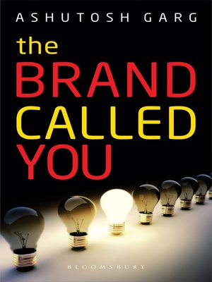 cover image of The Brand Called You