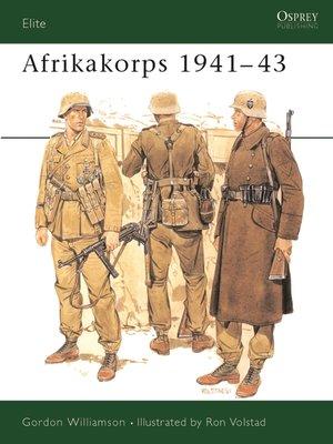 cover image of Afrikakorps 1941-43