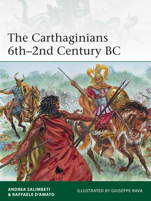 cover image of The Carthaginians 6th-2nd Century BC