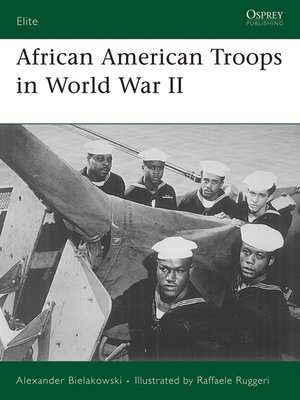 cover image of African American Troops in World War II