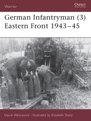 cover image of German Infantryman (3) Eastern Front 1943–45