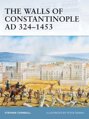 cover image of The Walls of Constantinople AD 324-1453