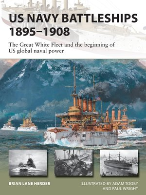 cover image of US Navy Battleships 1895–1908