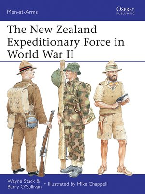 cover image of The New Zealand Expeditionary Force in World War II