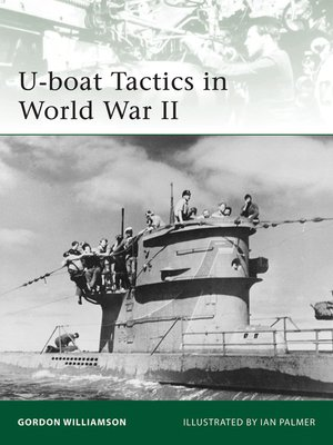 cover image of U-boat Tactics in World War II