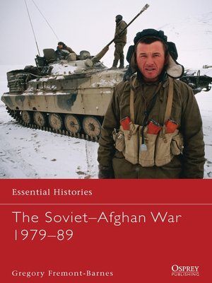 cover image of The Soviet–Afghan War 1979–89