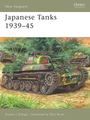 cover image of Japanese Tanks 1939-45