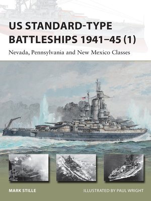 cover image of US Standard-type Battleships 1941–45 (1)