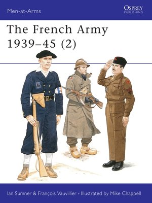 cover image of The French Army 1939–45 (2)