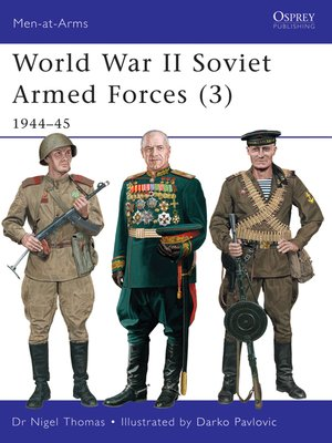 cover image of World War II Soviet Armed Forces (3)