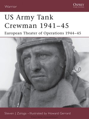 cover image of US Army Tank Crewman 1941-45