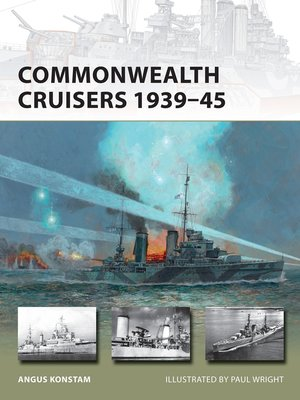 cover image of Commonwealth Cruisers 1939–45