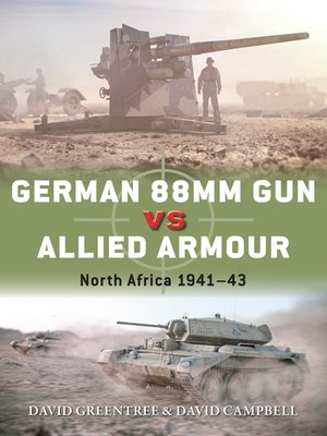 cover image of German 88mm Gun vs Allied Armour