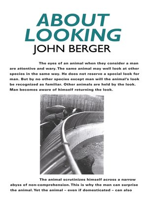 cover image of About Looking