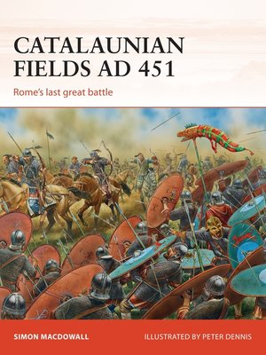 cover image of Catalaunian Fields AD 451