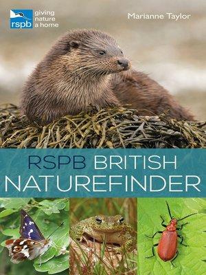cover image of RSPB British Naturefinder