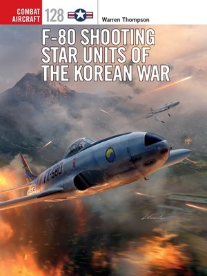 cover image of F-80 Shooting Star Units of the Korean War