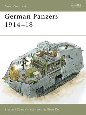 cover image of German Panzers 1914-18