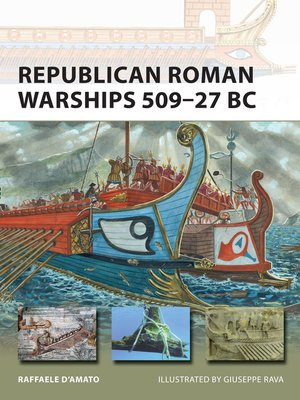 cover image of Republican Roman Warships 509–27 BC