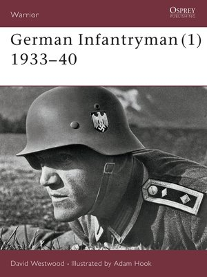 cover image of German Infantryman (1) 1933–40