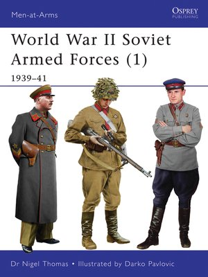 cover image of World War II Soviet Armed Forces (1)