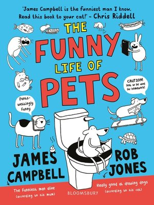 cover image of The Funny Life of Pets