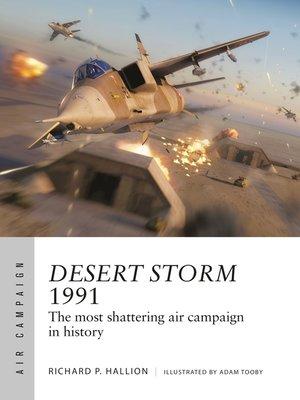 cover image of Desert Storm 1991
