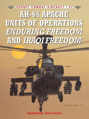 cover image of AH-64 Apache Units of Operations Enduring Freedom & Iraqi Freedom