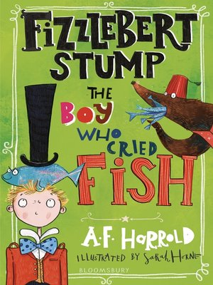 cover image of The Boy Who Cried Fish