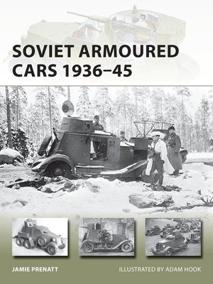 cover image of Soviet Armoured Cars 1936–45