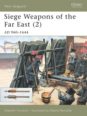 cover image of Siege Weapons of the Far East (2)