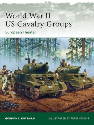 cover image of World War II US Cavalry Groups