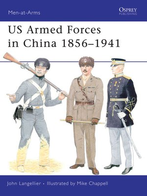 cover image of US Armed Forces in China 1856–1941
